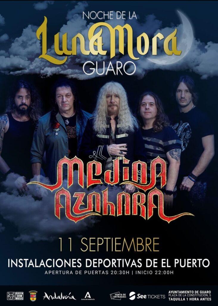 Concierto dia 11 de septiembre noche de Luna Mora con Medina Azahara
